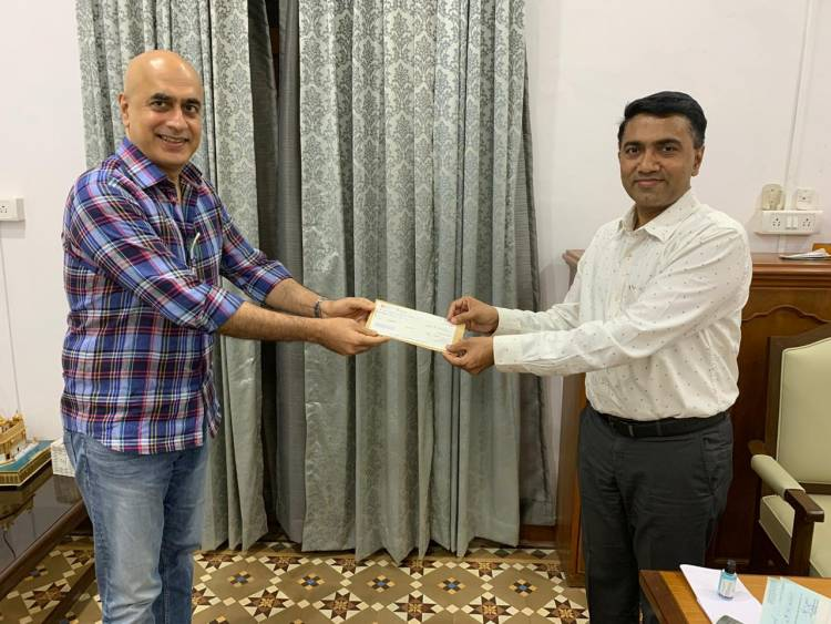 Deltin Group pledges its support towards Goa's fight against COVID19