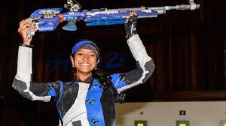 Reaching number 1 ranking will serve as confidence booster:Shooter Elavenil Valarivan