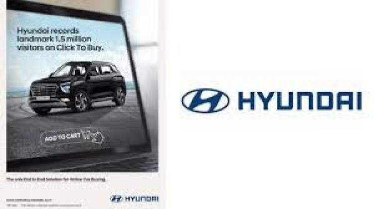 Hyundai Records Landmark 1.5 Million Visitors on 'Click To Buy'