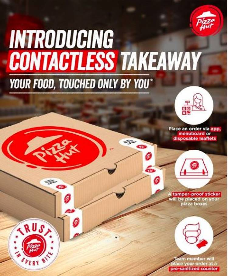 Pizza Hut strengthens its Contactless Delivery and Takeaway service in Chennai