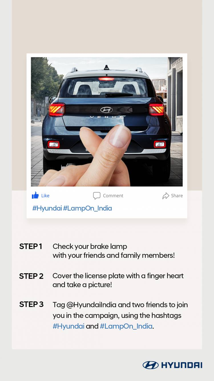 Hyundai organizes 'Lamp On Challenge' – A Unique Social Media Contest