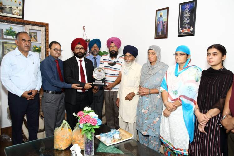 PNB honours the families of Martyrs' of Galwan Valley
