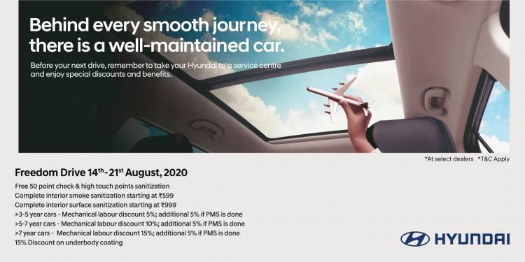 Hyundai Motor India announces Nationwide Freedom Drive
