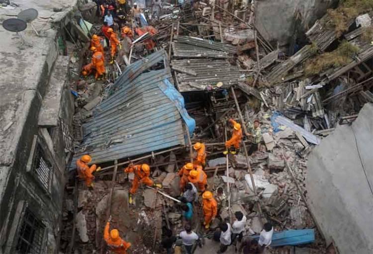 மராட்டிய கட்டிட விபத்தில் 40 பேர் பலி