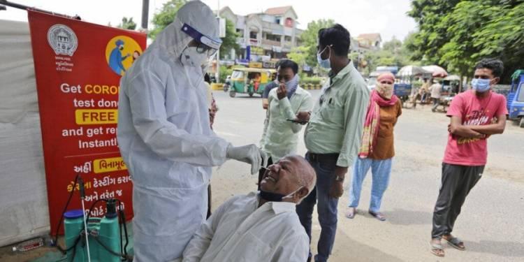 இந்தியா கொரோனா பாதிக்கப்பட்டோர் 60 லட்சத்தை தாண்டியது