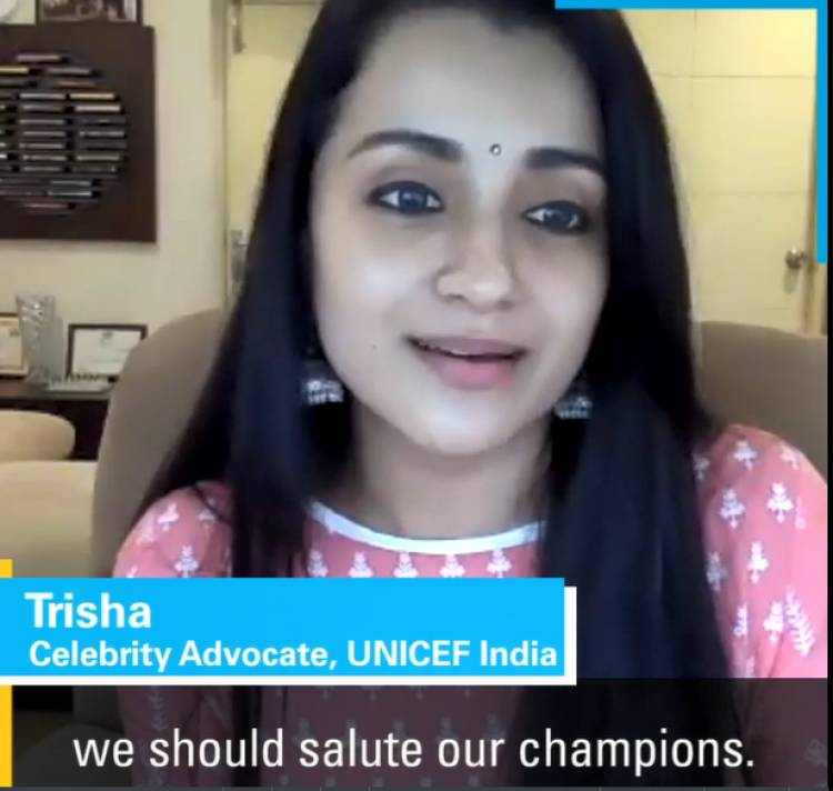 Trisha's clarion call to end gender-based violence against girls