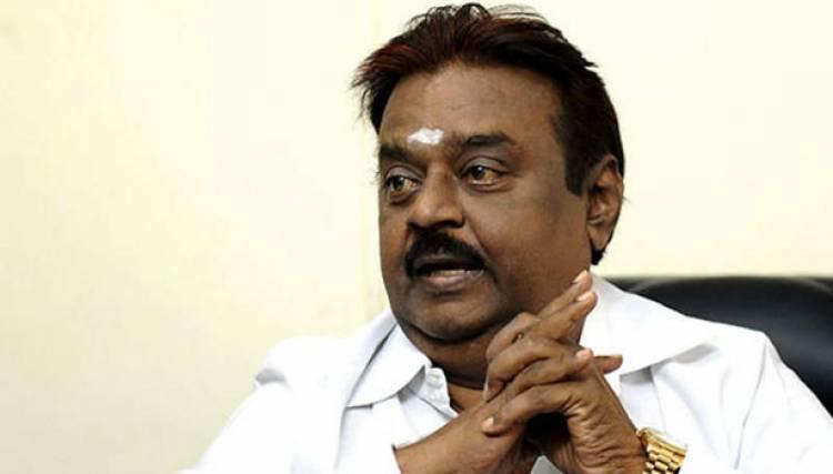 தேமுதிக தலைவர் விஜயகாந்த் வீட்டிற்கு வெடிகுண்டு மிரட்ட