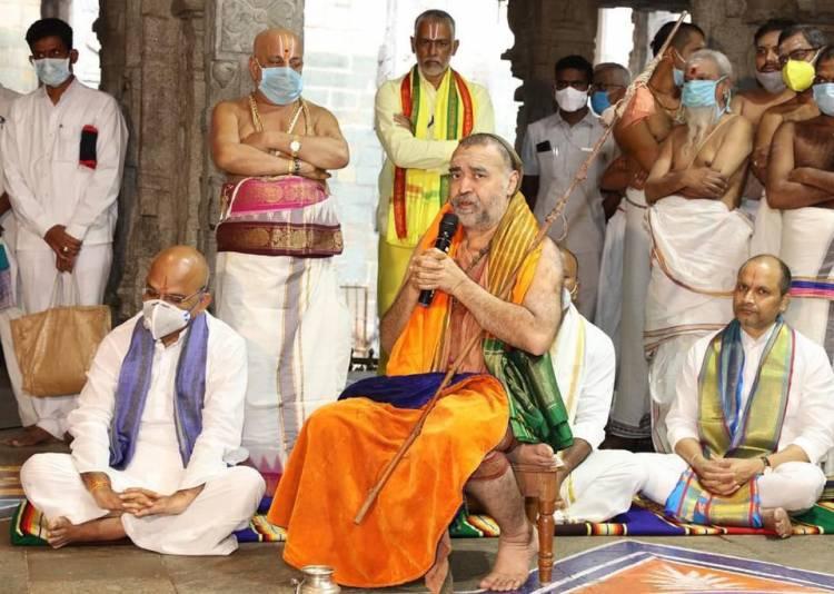 காஞ்சி காமகோடி பீடாதிபதி ஜகத்குரு ஶ்ரீஶ்ரீஶ்ரீ சங்கர விஜயேந்திர ஸரஸ்வதி ஸ்வாமிகள்