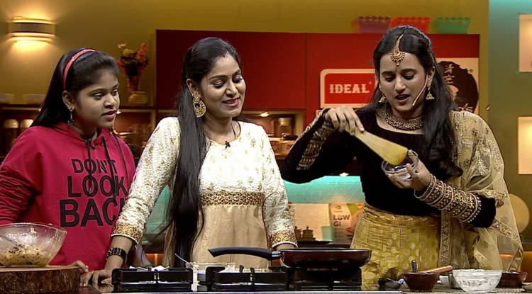 Celebrities Kavitha and GayathiriPriya set to cook a scrumptious treat in COLORS Kitchen