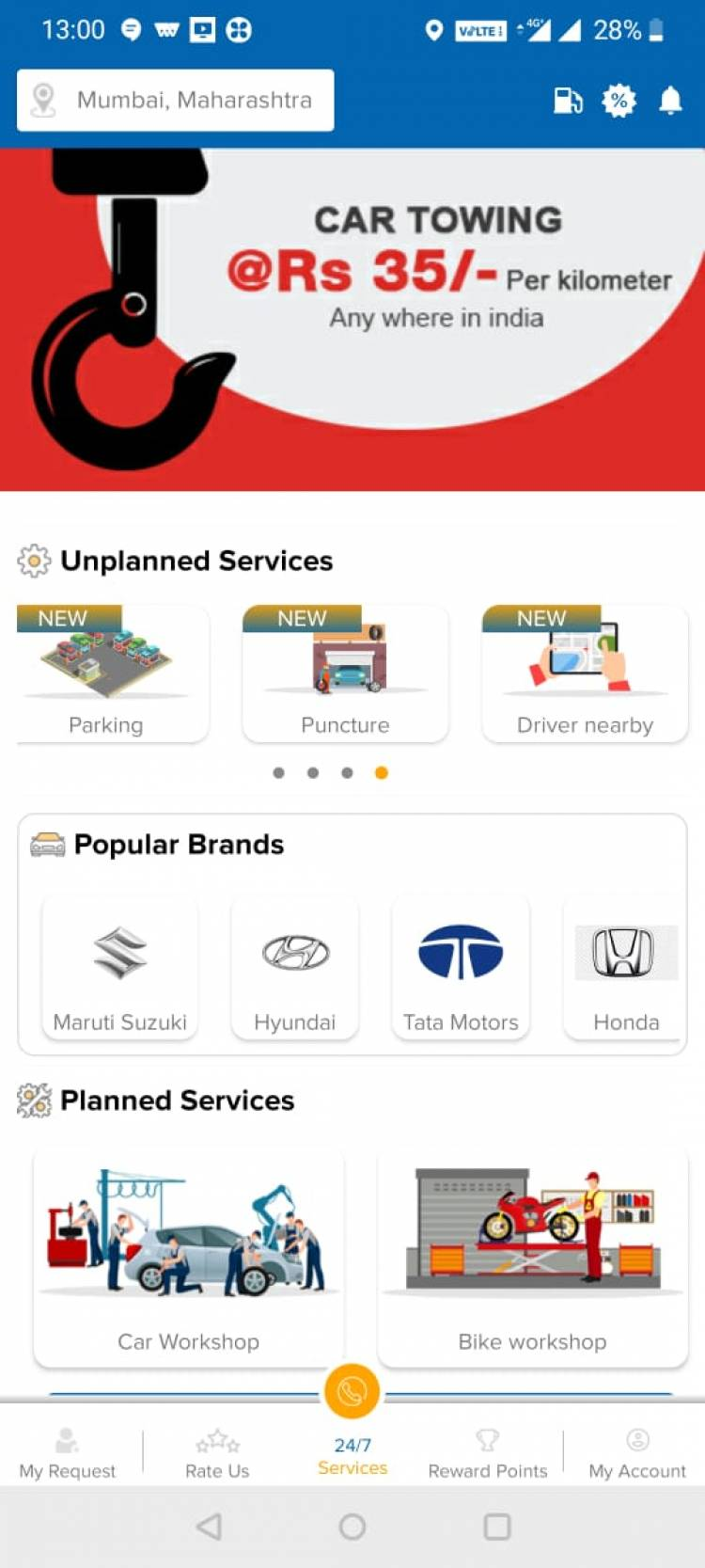 New year road trips just got hassle free with roadside assistance app Auto i Care