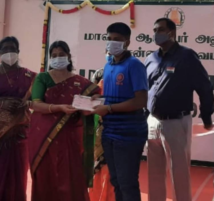 VELAMMAL STUDENTS FELICITATED FOR THEIR PROWESS IN CHESS