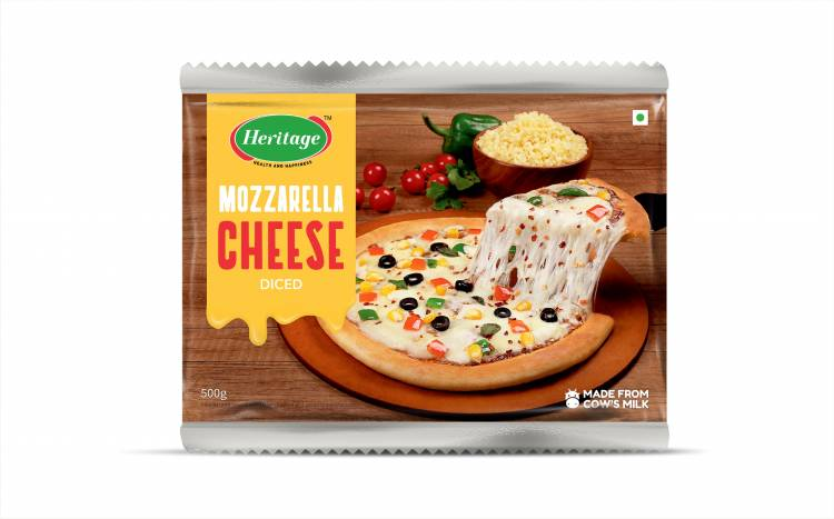 Heritage Foods forays into cheese products in consumer packs
