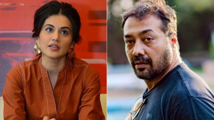 Income Tax raids underway at the properties of film director Anurag Kashyap and actor Taapsee Pannu in Mumbai