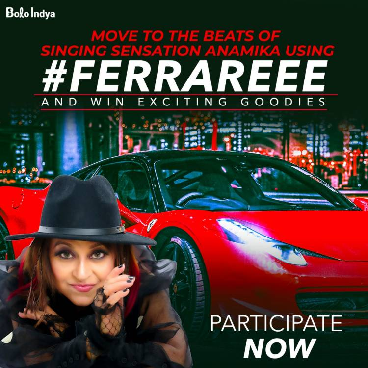 Indie-Pop Music Sensation Anamika Grover joins Bolo Indya to promote new album #Ferrareee amongst Bharat internet users