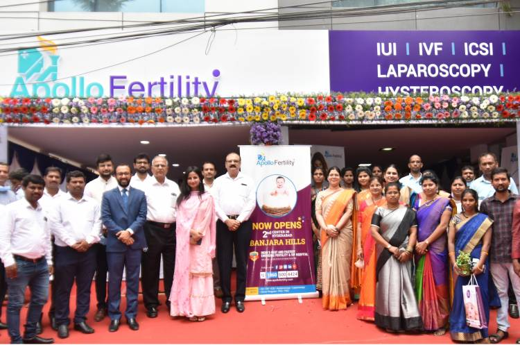 Apollo Fertility expands its presence with a state-of-the-art Centre in Banjara Hills, Hyderabad!
