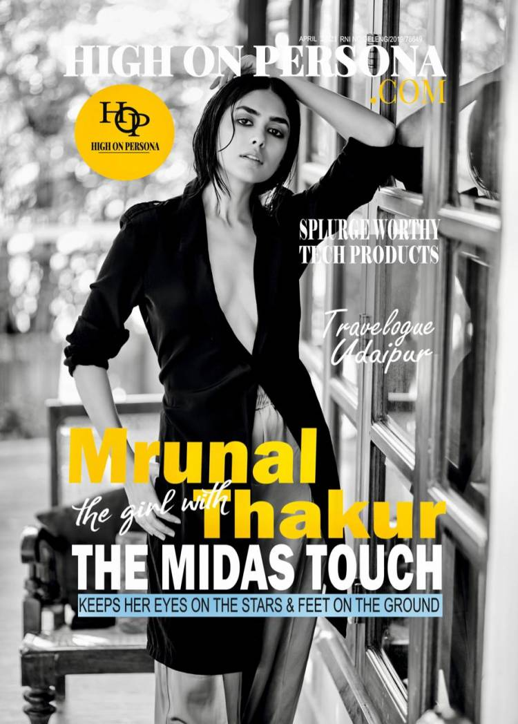 Mrunal Thakur sizzles on the cover page of High On Persona Magazine