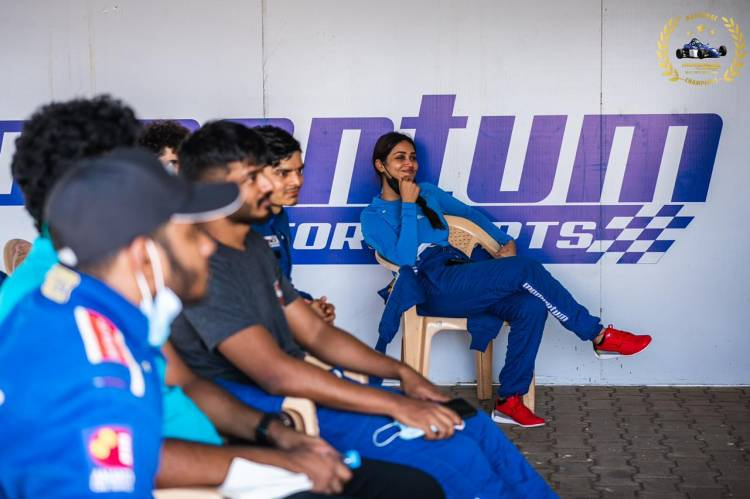 @Nivetha_Tweets has completed the Level 1 of the Formula Race Car Training Program