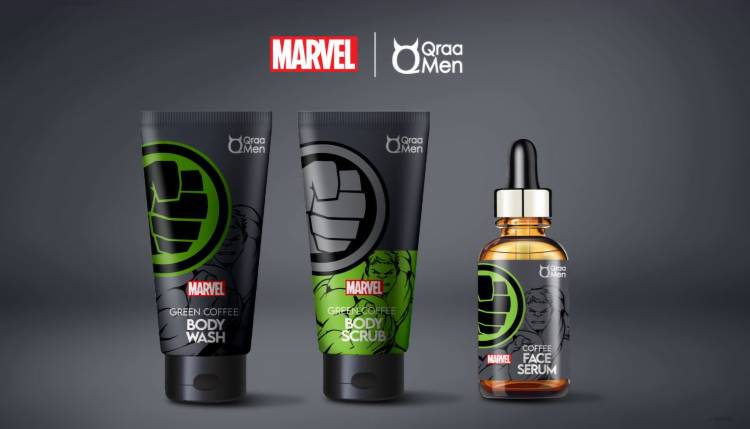 QRAAMEN LAUNCHES A COLLECTION OF GROOMING PRODUCTS INSPIRED BY   MARVEL'S SUPER HEROES – THE AVENGERS