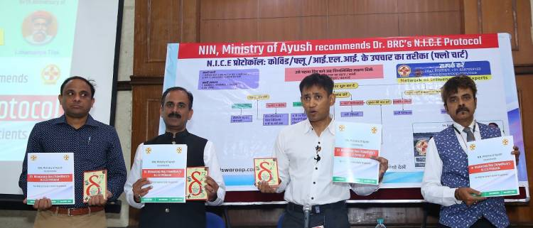 NIN, Ministry of AYUSH recommends Dr Biswaroop Roy Chowdhury's N.I.C.E protocol for mild to severe COVID-19 patients