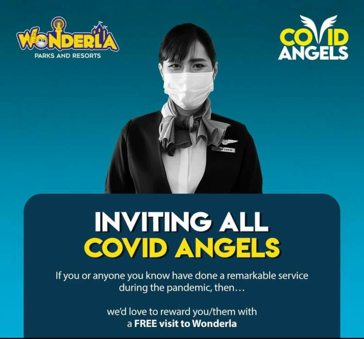 Wonderla Bangalore Park honours 'COVID Angels'