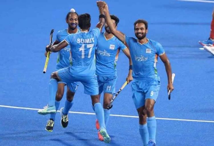 டோக்கியோ ஒலிம்பிக்கில் ஆண்கள் ஹாக்கி காலியிறுதி போட்டியில் பிரிட்டன் அணியை வீழ்த்தி அரையிறுதி போட்டிக்கு முன்னேறியது இந்தியா!