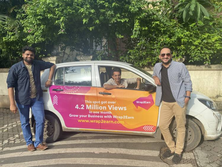 Wrap2Earn, a technology-first cab branding startup, receives investor backing despite COVID-19 blues