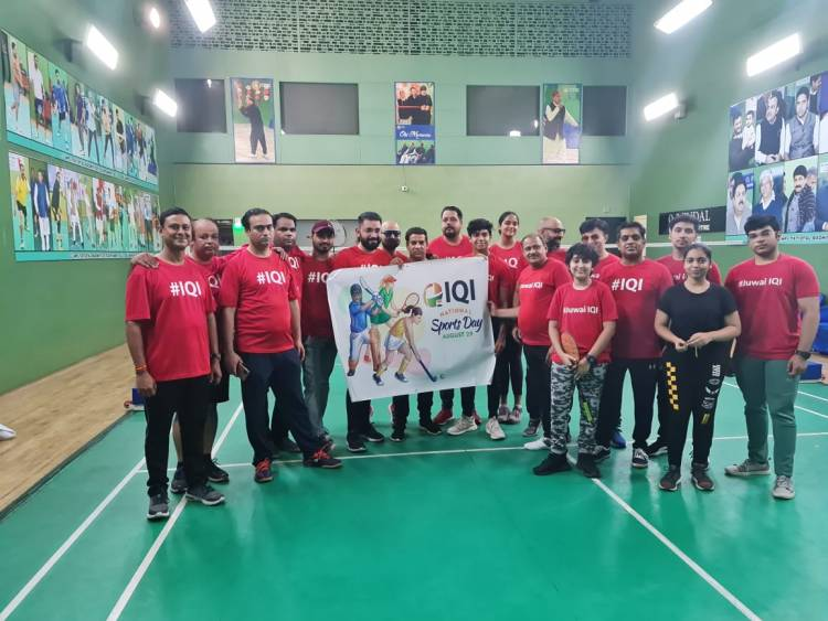 IQI India Celebrates #National Sports Day