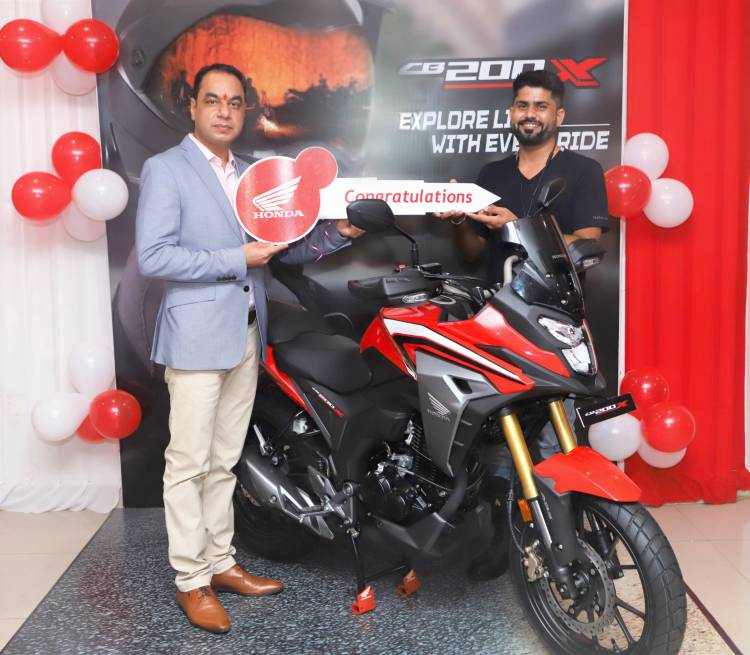 'Explore life with every ride'  Honda 2Wheelers India commences deliveries of the all-new CB200X