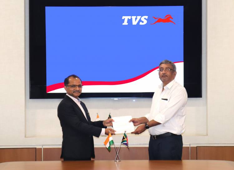 TVS Motor Company expands and strengthens its presence in South Africa