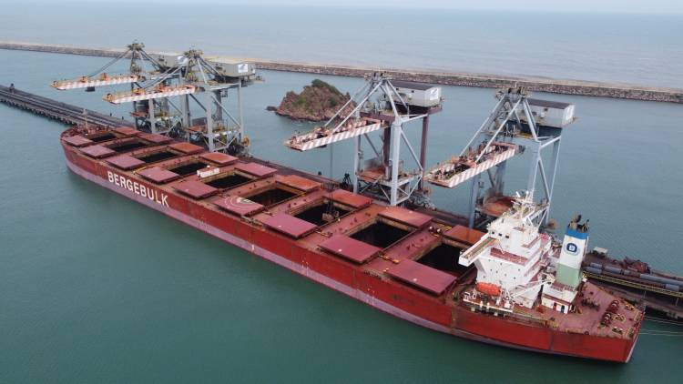 Gangavaram Port achieves milestones in cargo handling of various commodities